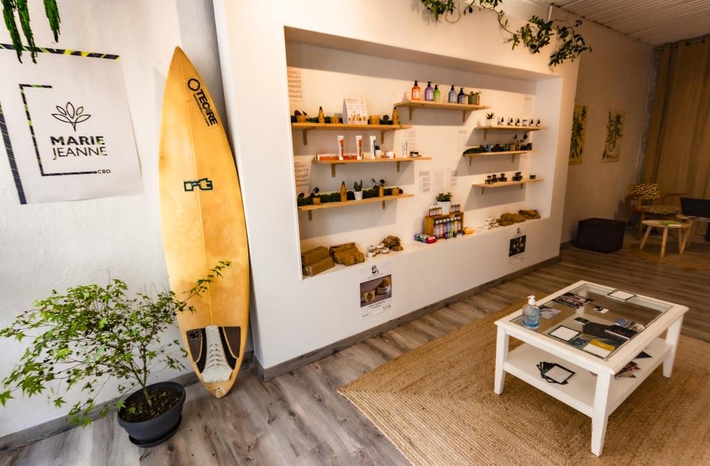 Boutique Botanik à Arcachon, spécialisée en chanvre bien-être et CBD